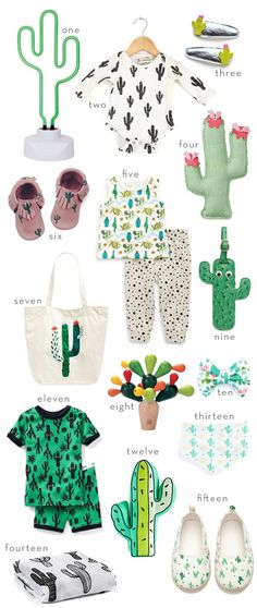 Cactus Favorites for the Littles!
