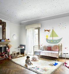 #kids #decor #interior #design #diy #projects #paper #baby #crib #diybazaar #dormitoare #copii #bebelusi