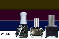 Orly Androgynie Nail Lacquer  Hello Kitty Night Sparkle Liquid Nail Art  Rescue Beauty Lounge Piu Mosso Nail Polish