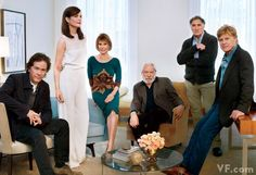 Ordinary People photographed by Mark Seliger - Timothy Hutton, Elizabeth McGovern Mary Tyler Moore, Donald Sutherland, Judd Hirsch & Robert Redford