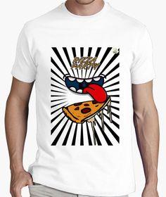 Camiseta Party Pizza Camiseta hombre clásica, calidad premium  19,90 € - ¡Envío gratis a partir de 3 artículos!