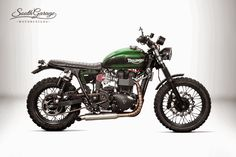 Triumph  Scrambler Falstaff  by South Garage Motor Co