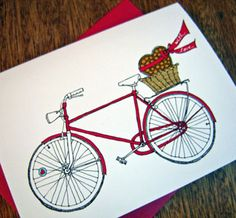 Bicycle Birthday Cards.