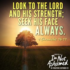 God is our refuge and #strength. #VerseOfTheDay #NewMovie