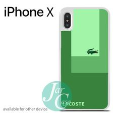Lacoste Green Style Phone case for iPhone X