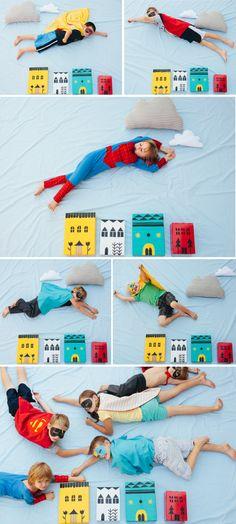 Superhero photo booth.