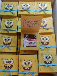 Scatoline regalo Spongebob  Frozen  Spiderman  altri