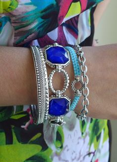 LAGOS Layers! Stacking Bangles, Color Rocks, and Macrame Mix. Available at Hingham Jewelers!