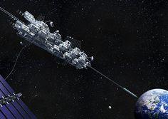 大林組による宇宙エレベーター建設構想