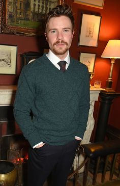 Pin for Later: From Brooklyn Beckham to Henry Cavill: Stars at the London Menswear Shows Joe Dempsie At the dunhill presentation. Future Boyfriend, Future Husband, Joe Dempsie, Brooklyn Beckham, Flynn Rider, Game Of Thrones Fans, British Men, Celebs, Celebrities