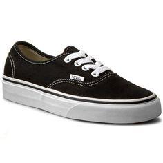 Πάνινα παπούτσια VANS - Authentic VN-0 EE3BLK Black