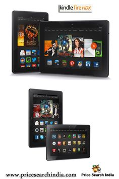 Amazon Kindle Fire HDX is available in 7 and 8.9 inch models with 16 / 32 / 64 GB options. For more information visit with us.