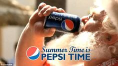 Pepsi summer Santa