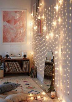 Dream Rooms, Dream Bedroom, Girls Bedroom, Magical Bedroom, Diy Bedroom, Wall Ideas For Bedroom, Attic Bedroom Ideas For Teens, College Bedroom Decor, Star Bedroom