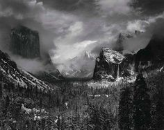 Iconic Photos Owned by MoMA Are Up for Sale - Photo: Ansel Adams / Clearing Winter Storm, Yosemite National Park, California, 1938