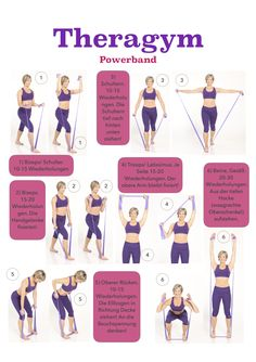 Ein 10 Minuten Theragym Workout f r eine knackige Figur We are want to say thank. - Fitness - Ein 10 Minuten Theragym Workout f r eine knackige Figur We are want to say thanks if you like to sh - Pilates Workout, Fitness Workouts, Fitness Motivation, 10 Minute Workout, Bikini Workout, Hiit, At Home Workouts, Pilates Training, Resistance Workout