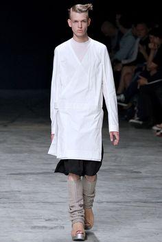 Rick Owens Spring 2013 Menswear Collection Photos - Vogue