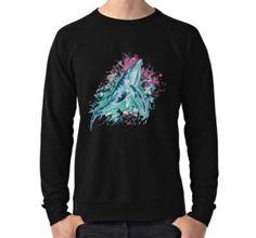 'Mermaid Whale' by jurast Whale, Chiffon Tops, Classic T Shirts, Mermaid, Graphic Sweatshirt, Sweatshirts, Long Sleeve, Sweaters, Mens Tops