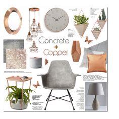 Concrete & Copper - Home Decor (282) by anyasdesigns