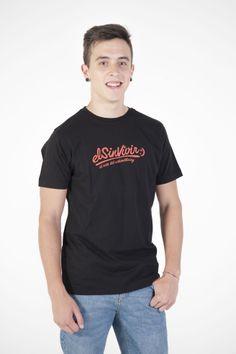 El sinvivir, el arte del withoutliving Camiseta de algodón orgánico en negro 17,95