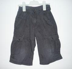 Pantalón Unisex - 5-6 a Bermuda azul-gris. C #pantalón #bermuda #niño #niña #trueque #ropa