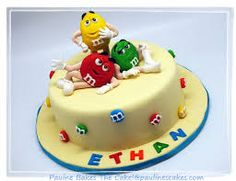 how to make m and m cake figures - Google Search
