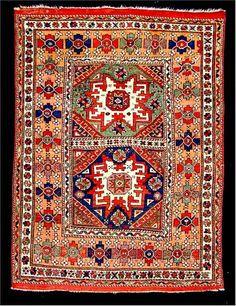 Bergama carpet, ca. 1870