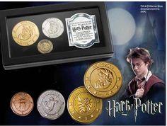 Set monedas Harry Potter. Banco Gringotts