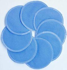 NuAngel Designer Washable Nursing Pads Cotton - Periwinkle Blue - Made in U. Nursing Pads, Periwinkle Blue, Cosplay Costumes, Breastfeeding, Designer, Baby, How To Make, Kids, Cotton
