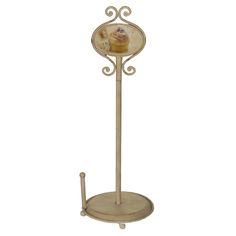 Küchenrollenhalter Shabby Cupcakes; Metall, 48,5 x 17,3 cm