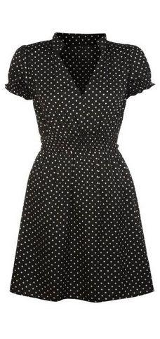 Mela Loves London Spotty Wrap Dress