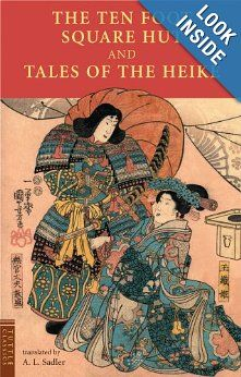 The Ten Foot Square Hut and Tales of the Heike (Tuttle Classics): A. L. Sadler: 9780804836760: Amazon.com: Books