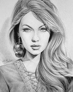 Beautiful women images in art 3d Art Drawing, Girl Drawing Sketches, Art Drawings Sketches Simple, Portrait Sketches, Realistic Drawings, Pencil Portrait, Face Sketch, Pencil Drawings Of Flowers, Pencil Drawings Of Girls