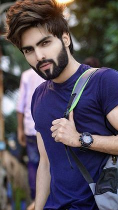 Beard Styles For Men, Hair And Beard Styles, Short Hair Styles, Stylish Boy Haircuts, Haircuts For Men, Hairstyles Haircuts, Cool Hairstyles, Jubin Shah, Beard Haircut