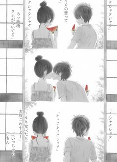 Anime Couples on Pinterest | Cute Anime Couples, Anime and Anime ...