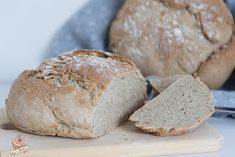 """juxi's bakery: Hausbrot von """"Backen mit Christina"""" Bakery, Food And Drink, Bread, Snacks, Pampered Chef, Pizza, Party, Peasant Bread, Appetizers"""