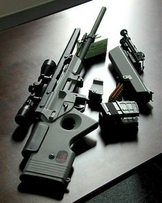 hk sniper sl8 | You're not bulletproof..., H SL8-1 The neutered version of the G36 ...