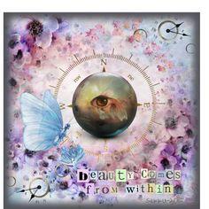 """Digital Art by *Silkku* """"Beauty comes from inside"""" silkkus.blogspot.fi"""