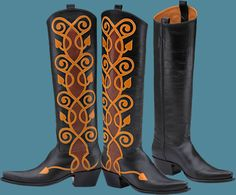 Baronette-rocket buster boots
