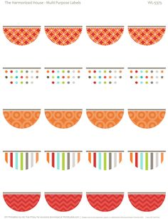 labels and round label template printables on pinterest round labels