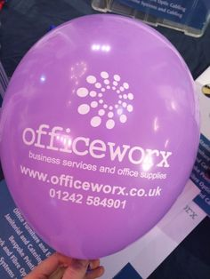 We love our Officeworx Balloons!