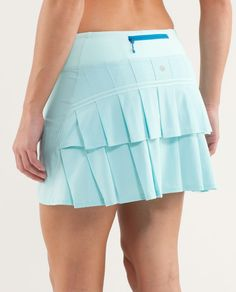 Want this new lululemon skirt! The aquamarine is so cute for summer!