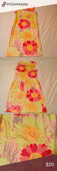 Talbots Floral Dress  Talbots Floral Dress. Good condition. More fitted look. Falls after the knee. Reasonable offers will be accepted. Talbots Dresses Midi