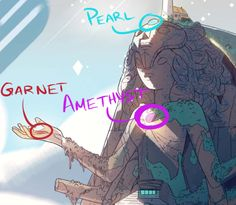 Steven Universe how do they make Alexandrite | The Number of Arms : The Crystal Temple has eight arms, as shown here ...