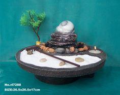 Zen Garden complete with mini rake... definitely going on my christmas list