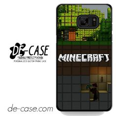 Minecraft Diging DEAL-7273 Samsung Phonecase Cover For Samsung Galaxy Note 7
