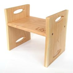 Encourage child involvement and independence with this modern step stool from Little Sapling Toys. Made  sc 1 st  Pinterest & Flip Flop Step Stool | Kids reading Woodworking and Stools islam-shia.org