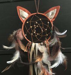 Woodland Fox Dreamcatcher Dream Catcher Boho by GypsyDesertDreamer