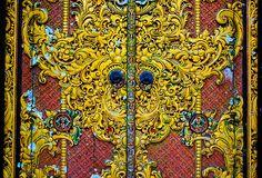 temple doors, via Flickr.
