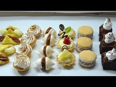 Masas finas Mini Desserts, Mini Cakes, Cupcake Cakes, Yummy Things To Bake, Patisserie Fine, Cookie Recipes, Dessert Recipes, Cake Factory, Dessert Table